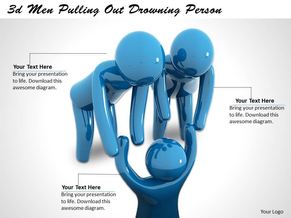 3d_men_pulling_out_drowning_person_ppt_graphics_icons_powerpoint_Slide01