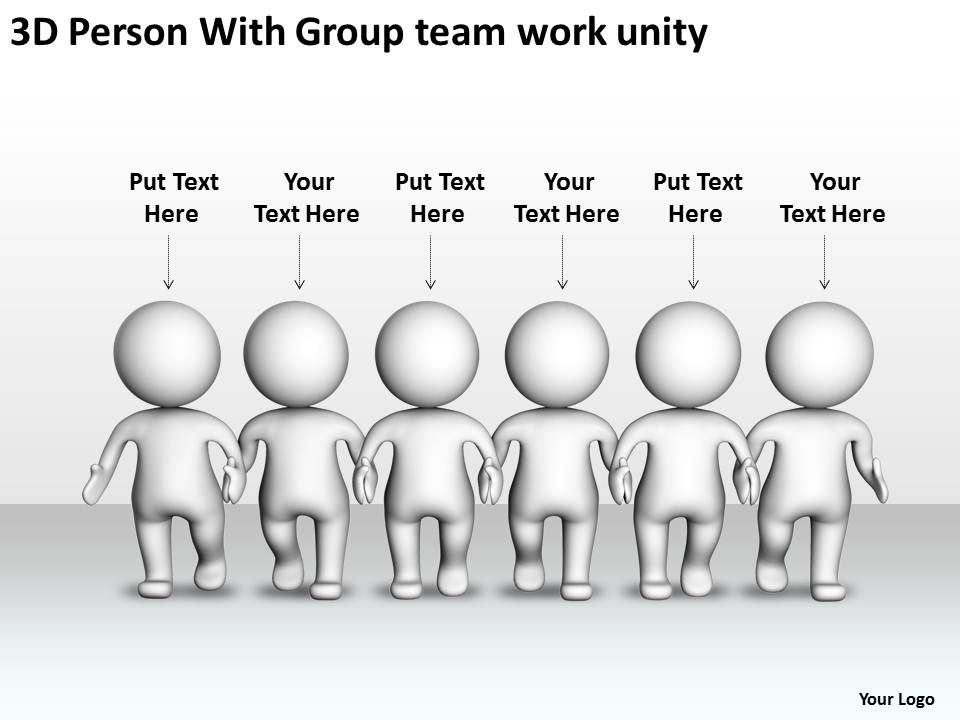 3d_person_with_group_team_work_unity_ppt_graphic_icon_Slide01