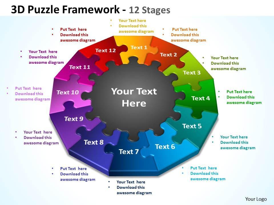 3d Puzzle Framework 12 Stages 3 Slide01 Slide02 Slide03