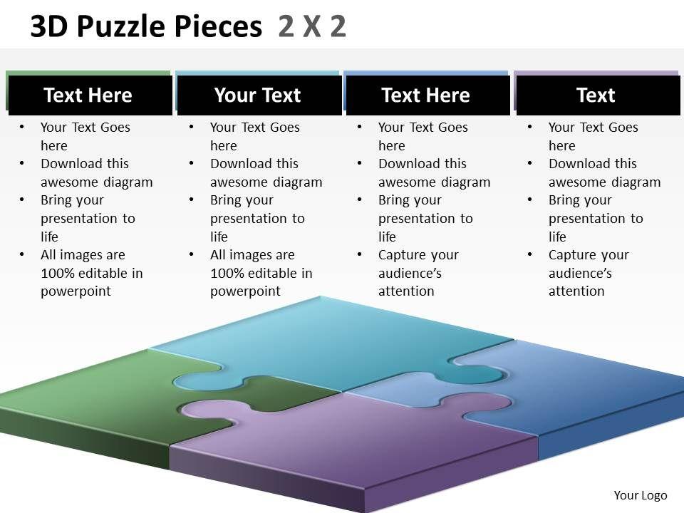 3d_puzzle_pieces_2x2_ppt_2_Slide01