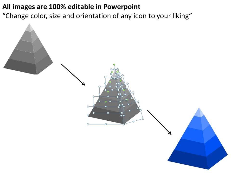 3D Pyramid Template http://www.slideteam.net/3d-pyramid-powerpoint ...
