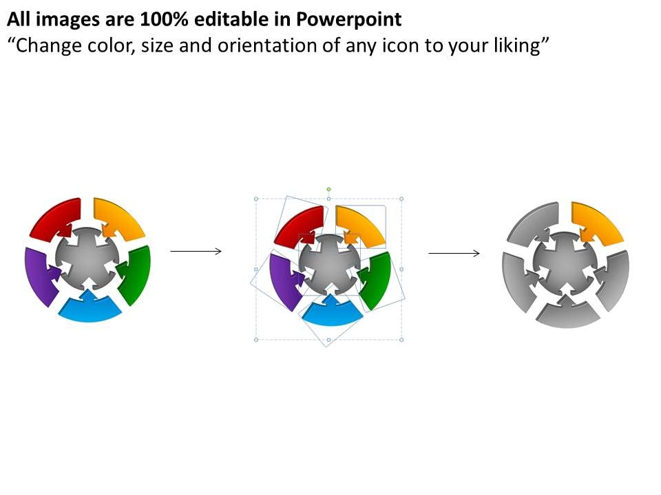 how to make a picture round in powerpoint