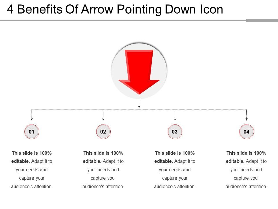 4_benefits_of_arrow_pointing_down_icon_Slide01