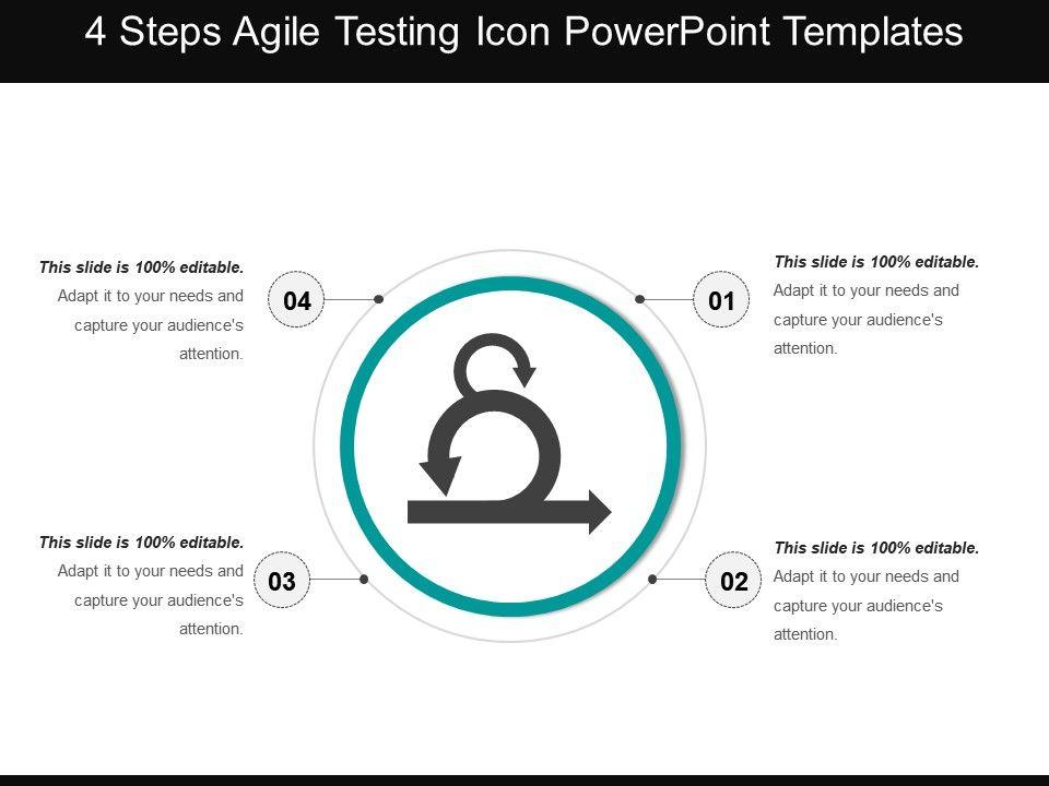 43532683 style circular loop 4 piece powerpoint presentation diagram infographic slide
