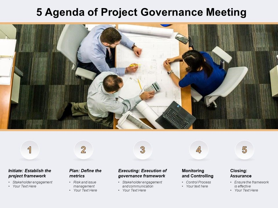5 Agenda Of Project Governance Meeting
