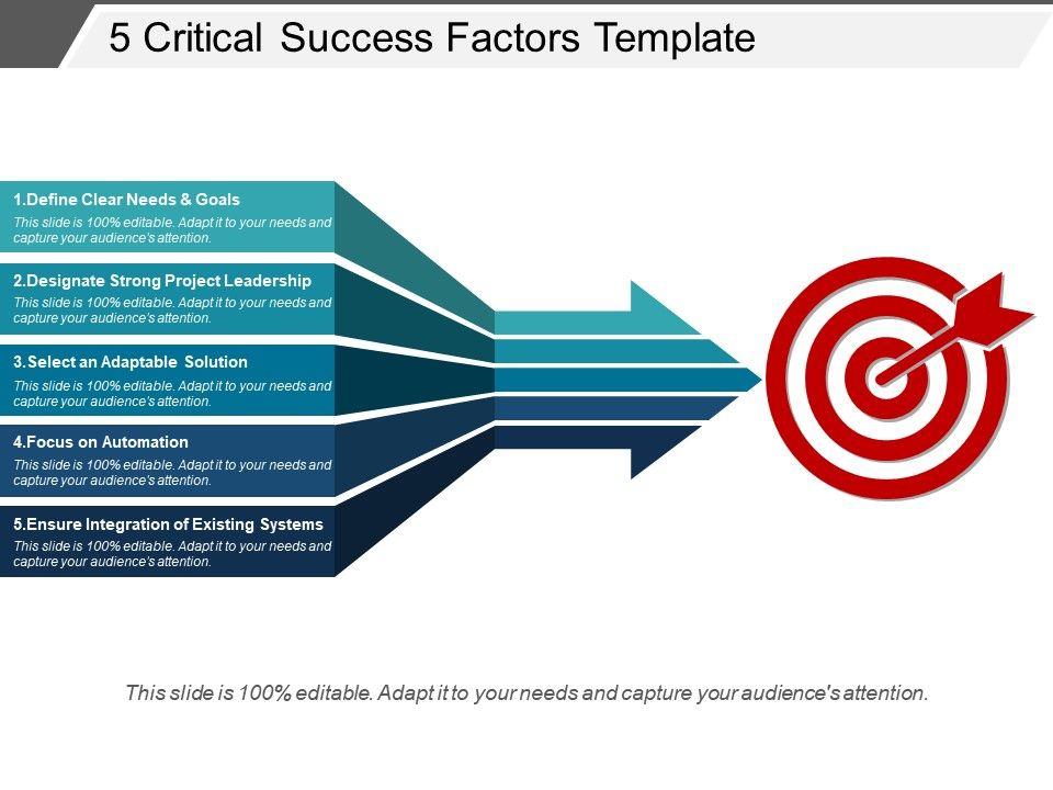 5_critical_success_factors_template_ppt_background_Slide01