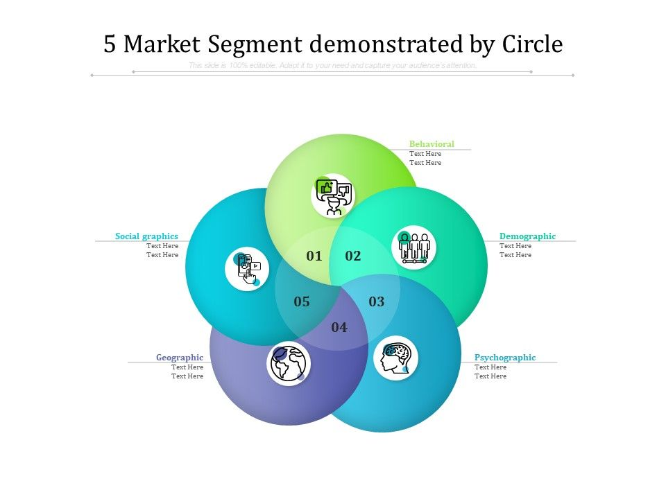 5 Market Segment Demonstrated By Circle