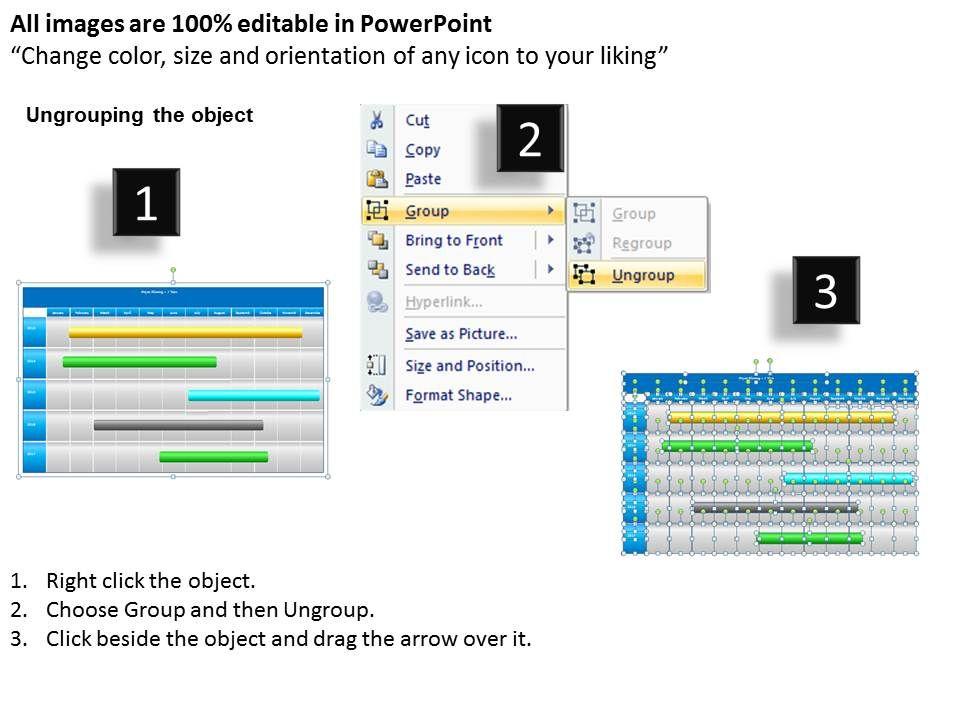 5 year planning gantt chart powerpoint slides gantt ppt templates