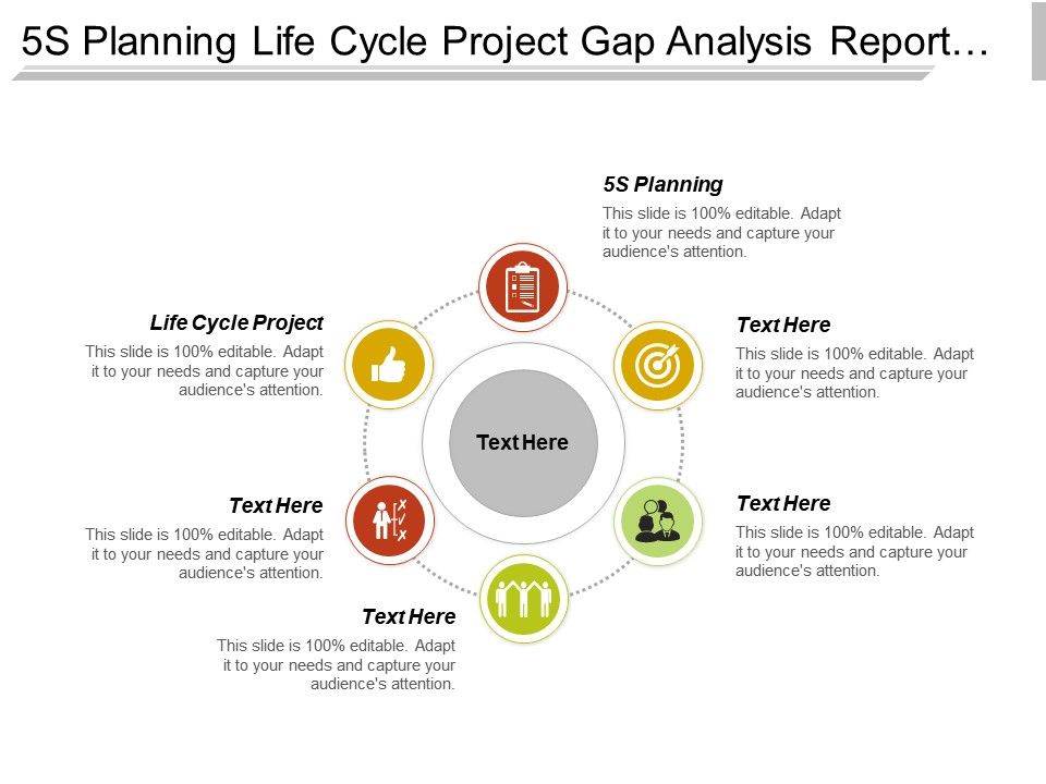 5s_planning_life_cycle_project_gap_analysis_report_template_cpb_Slide01