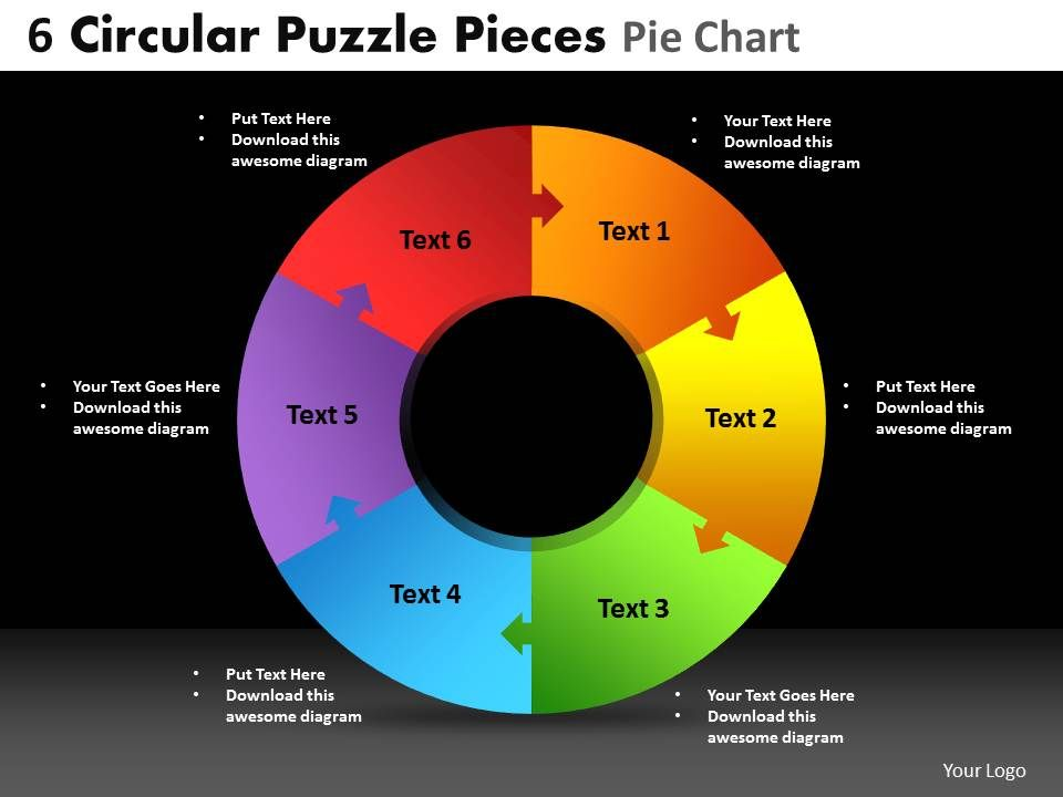 6 circular puzzle pieces pie chart powerpoint slides and ppt 6circularpuzzlepiecespiechartpowerpointslidesandppttemplatesdbslide01 ccuart Choice Image