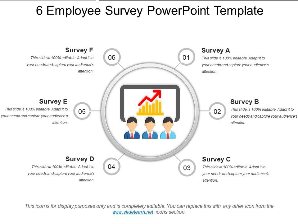 Employee Survey Powerpoint Template PowerPoint Shapes - Survey presentation template