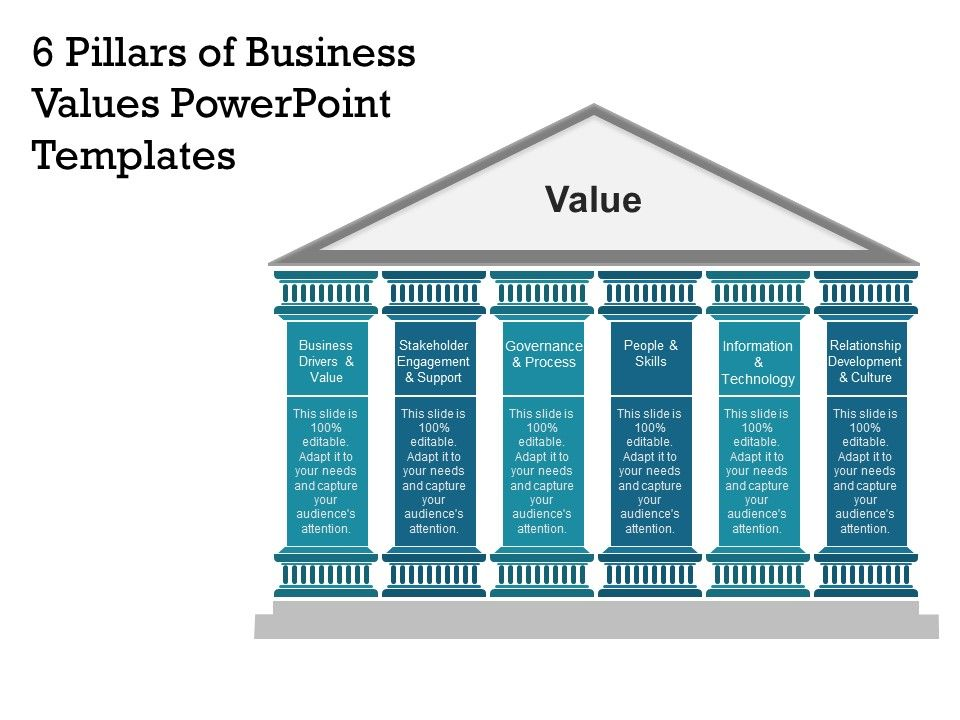 6 pillars of business values powerpoint templates powerpoint 6pillarsofbusinessvaluespowerpointtemplatesslide01 6pillarsofbusinessvaluespowerpointtemplatesslide02 toneelgroepblik Image collections