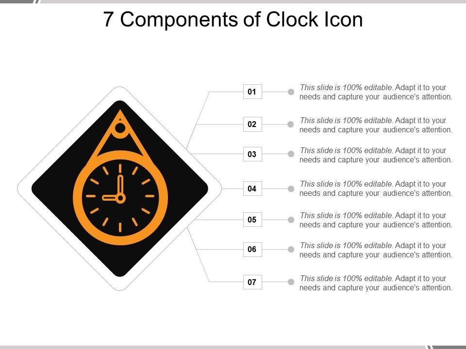 7_components_of_clock_icon_ppt_slides__download_Slide01