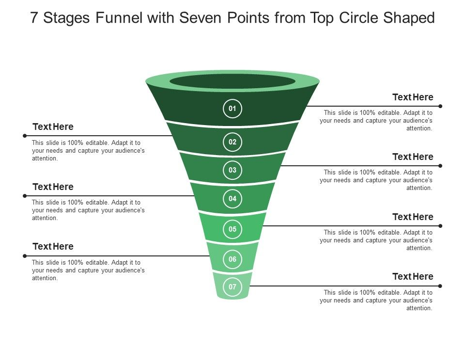 7_stages_funnel_with_seven_points_from_top_circle_shaped_Slide01