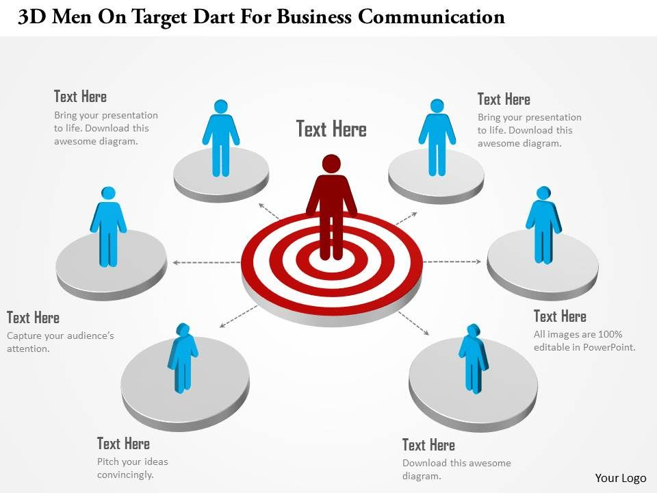 Ab 3d men on target dart for business communication powerpoint ab3dmenontargetdartforbusinesscommunicationpowerpointtemplateslide01 wajeb Choice Image