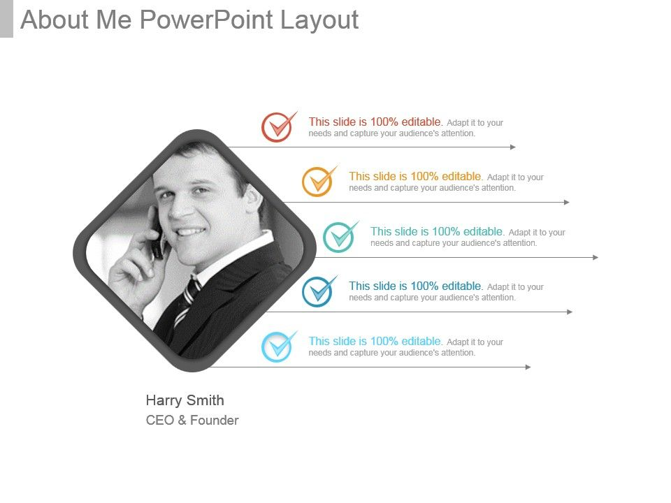 about me powerpoint layout powerpoint presentation templates ppt