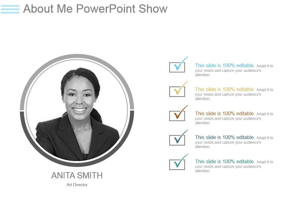 about me powerpoint show graphics presentation background for