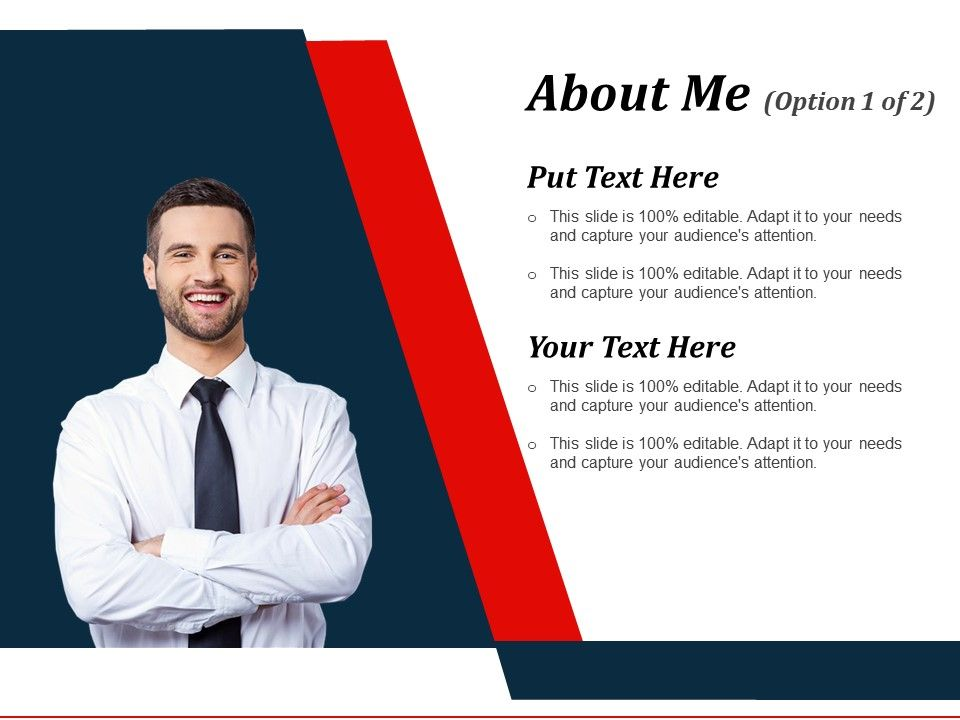 about me powerpoint slide presentation examples powerpoint