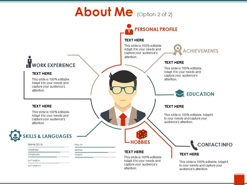 about me sample of ppt powerpoint templates download ppt