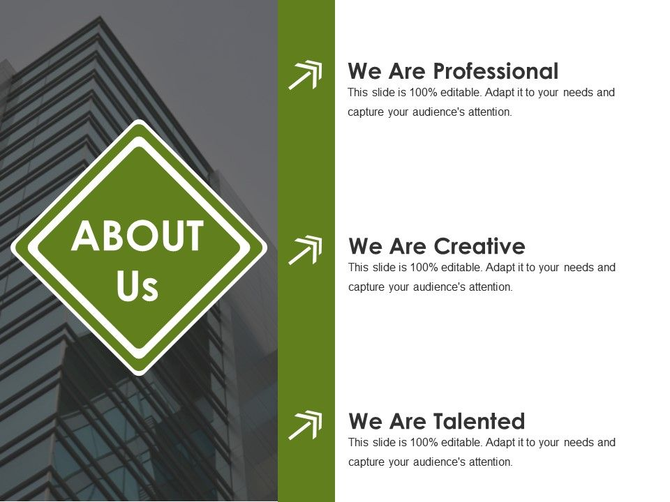 about us powerpoint presentation examples template 1 presentation