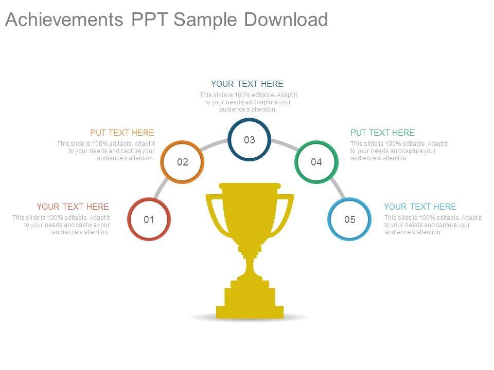 achievements ppt sample download
