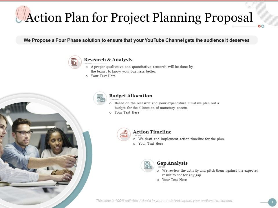 Action Plan For Project Planning Proposal Ppt Powerpoint Presentation Information