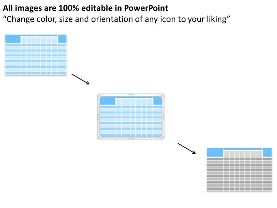activity matrix powerpoint presentation slide template, Modern powerpoint