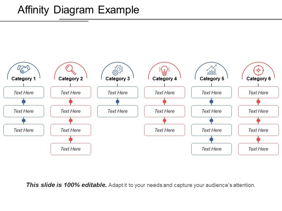 Affinity Diagram Example Ppt Background Graphics