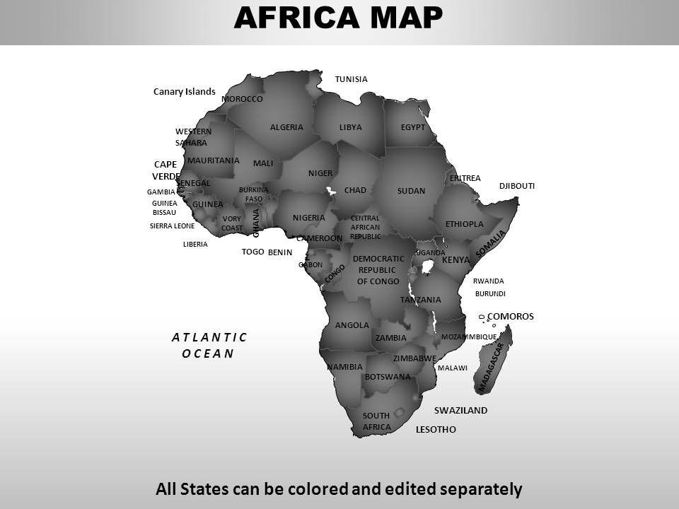 Africa continents powerpoint maps templates powerpoint africa continents powerpoint maps templates powerpoint presentation slides template ppt slides presentation graphics toneelgroepblik Gallery