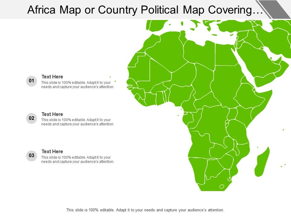 Africa Map Or Country Political Map Covering All Different ... on us regions map worksheet, us regions map printable, us regions map color,