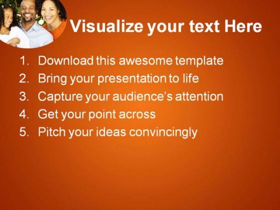 African American Family PowerPoint Templates And PowerPoint