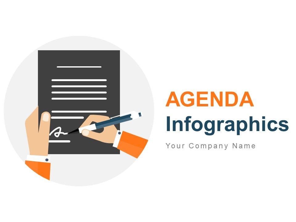 Agenda Infographics Business Meeting Timeline Roadmap Lunch Break Pricing