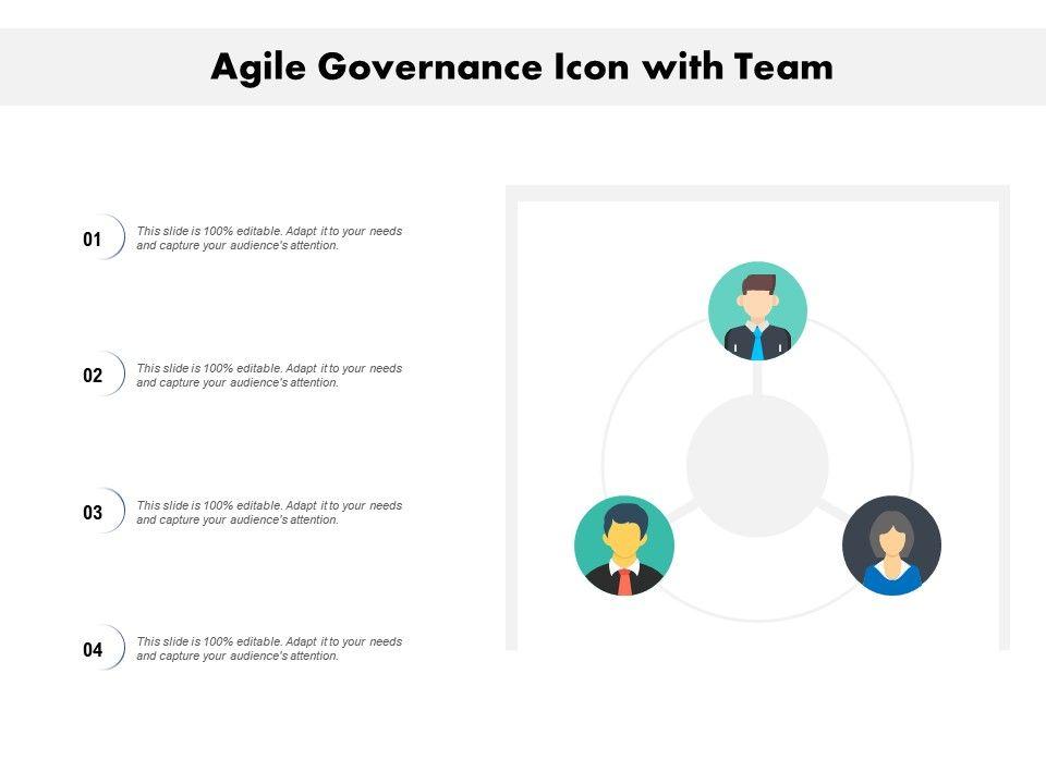 Agile Governance Icon With Team
