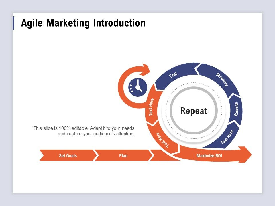 Agile Marketing Introduction Audiences Attention Ppt Powerpoint Presentation Files