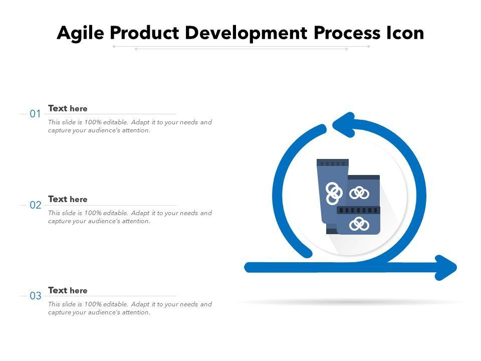 Agile Product Development Process Icon