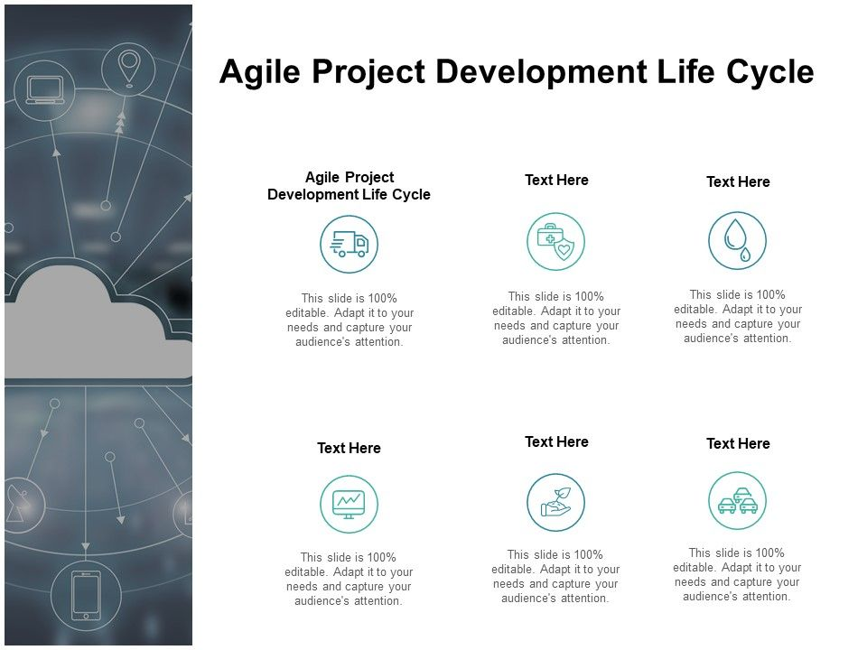 Agile Project Development Life Cycle Ppt Powerpoint Presentation Ideas Cpb