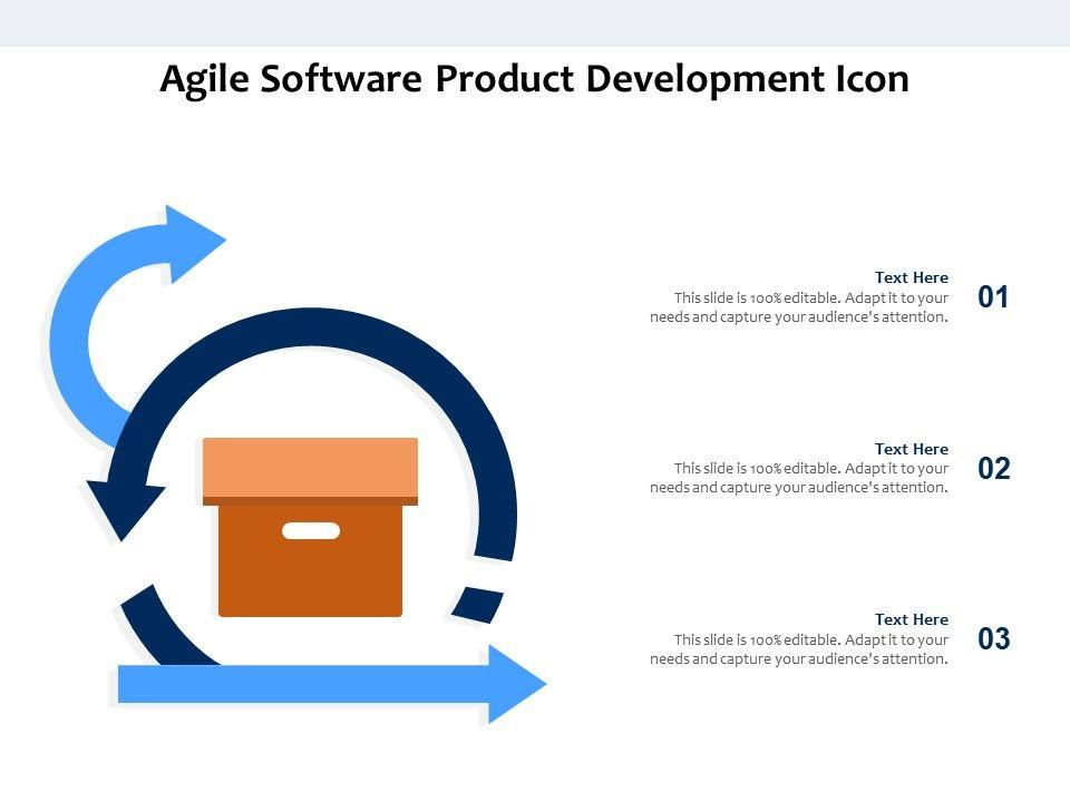 Agile Software Product Development Icon