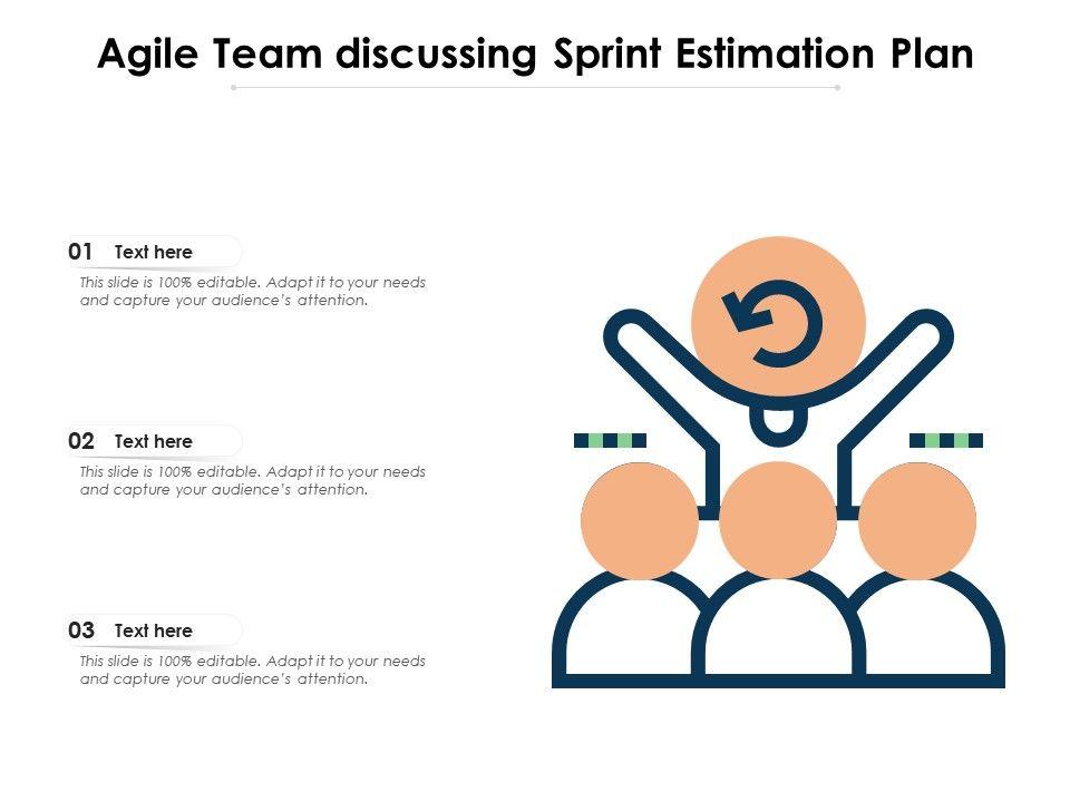 Agile Team Discussing Sprint Estimation Plan