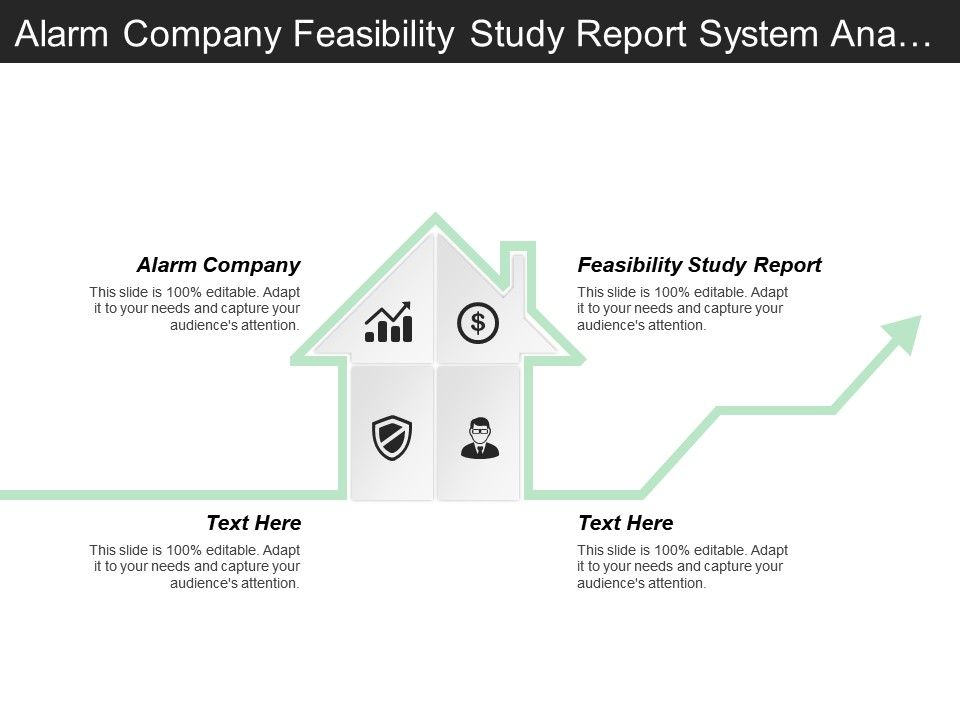 Alarm Company Feasibility Study Report System Analysis Design Templates Powerpoint Slides Ppt Presentation Backgrounds Backgrounds Presentation Themes