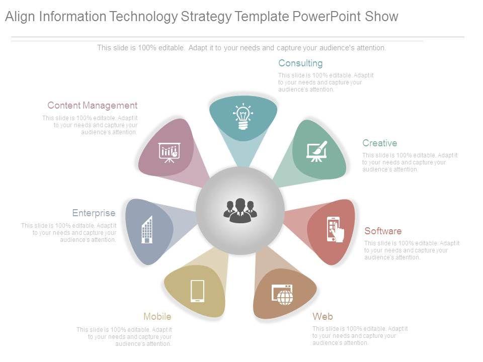 Align Information Technology Strategy Template Powerpoint Show ...
