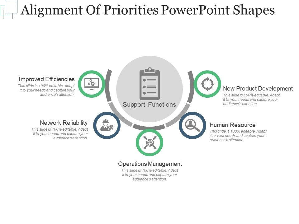 alignment_of_priorities_powerpoint_shapes_Slide01