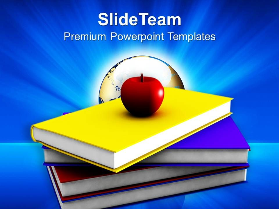 an_apple_with_books_powerpoint_templates_ppt_themes_and_graphics_0213_Slide01