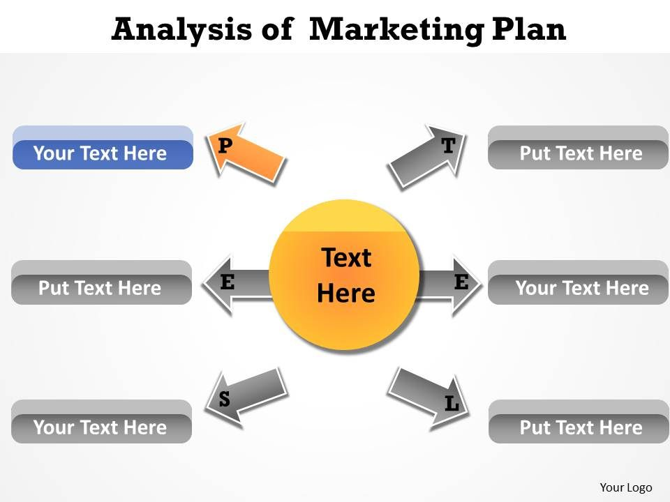 analysis of marketing plan powerpoint templates using pestel, Modern powerpoint