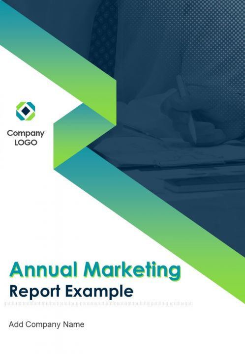 Annual Marketing Report Example PDF DOC PPT Document Report Template
