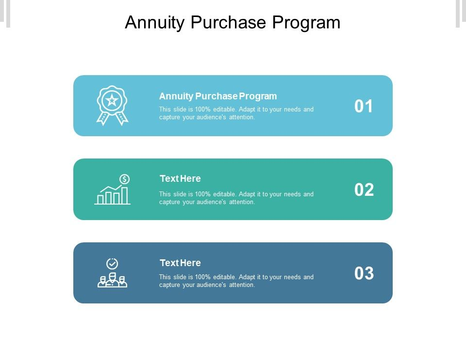 Purchase presentation template