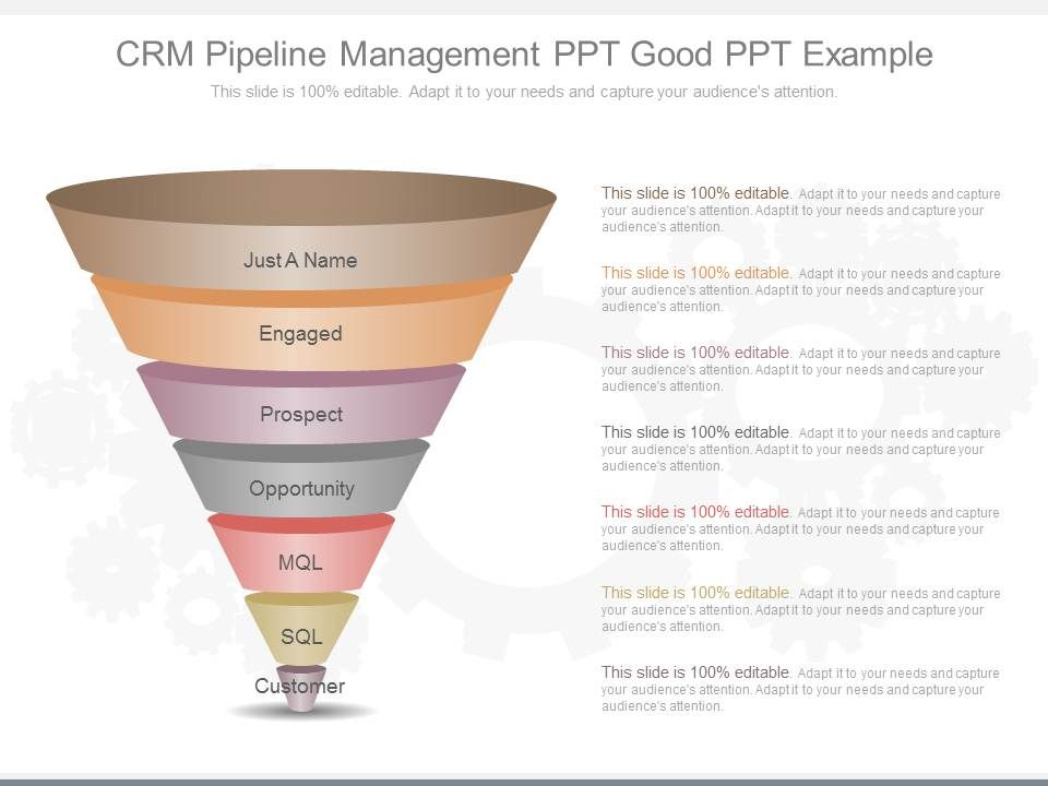 app crm pipeline management ppt good ppt example powerpoint