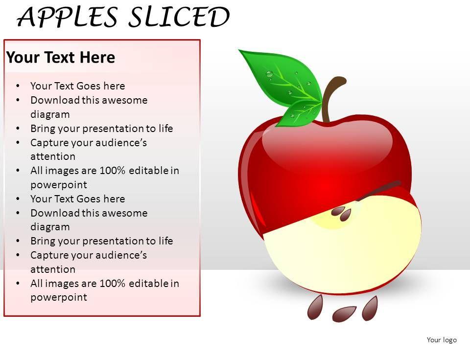 Apples sliced powerpoint presentation slides powerpoint applesslicedpowerpointpresentationslidesslide01 applesslicedpowerpointpresentationslidesslide02 toneelgroepblik Choice Image