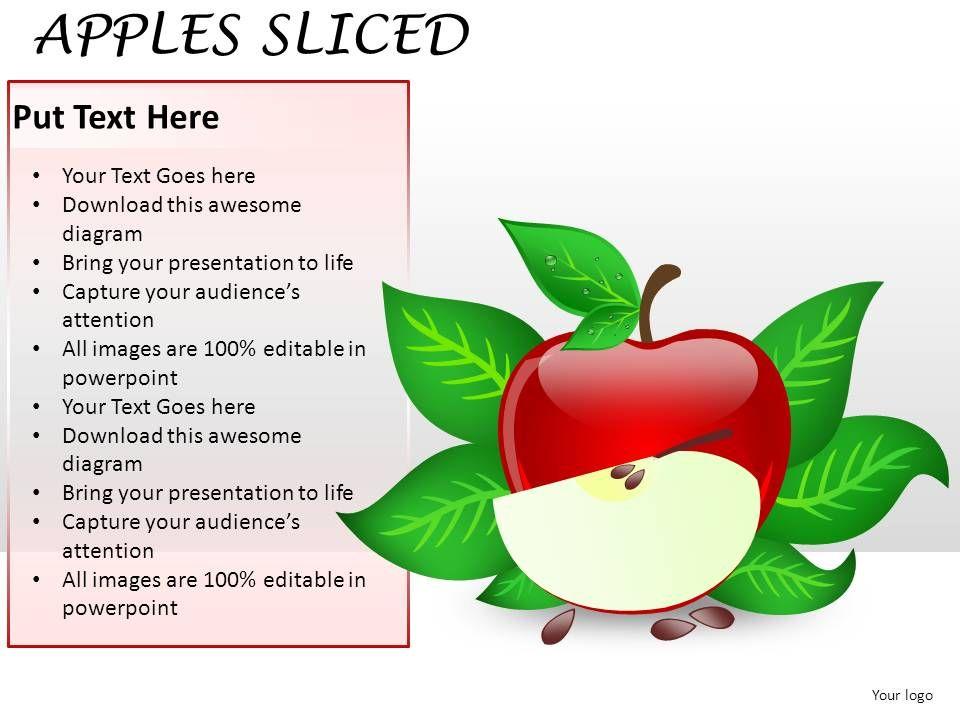 Apples sliced powerpoint presentation slides powerpoint applesslicedpowerpointpresentationslidesslide02 applesslicedpowerpointpresentationslidesslide03 toneelgroepblik Choice Image