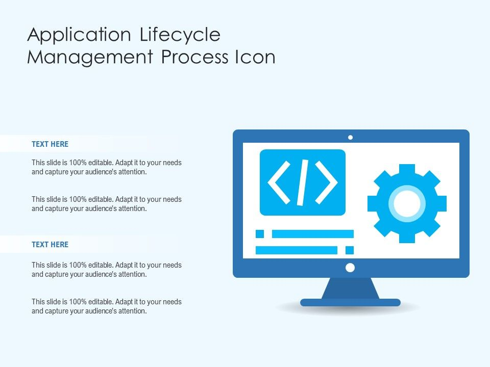 Application Lifecycle Management Process Icon
