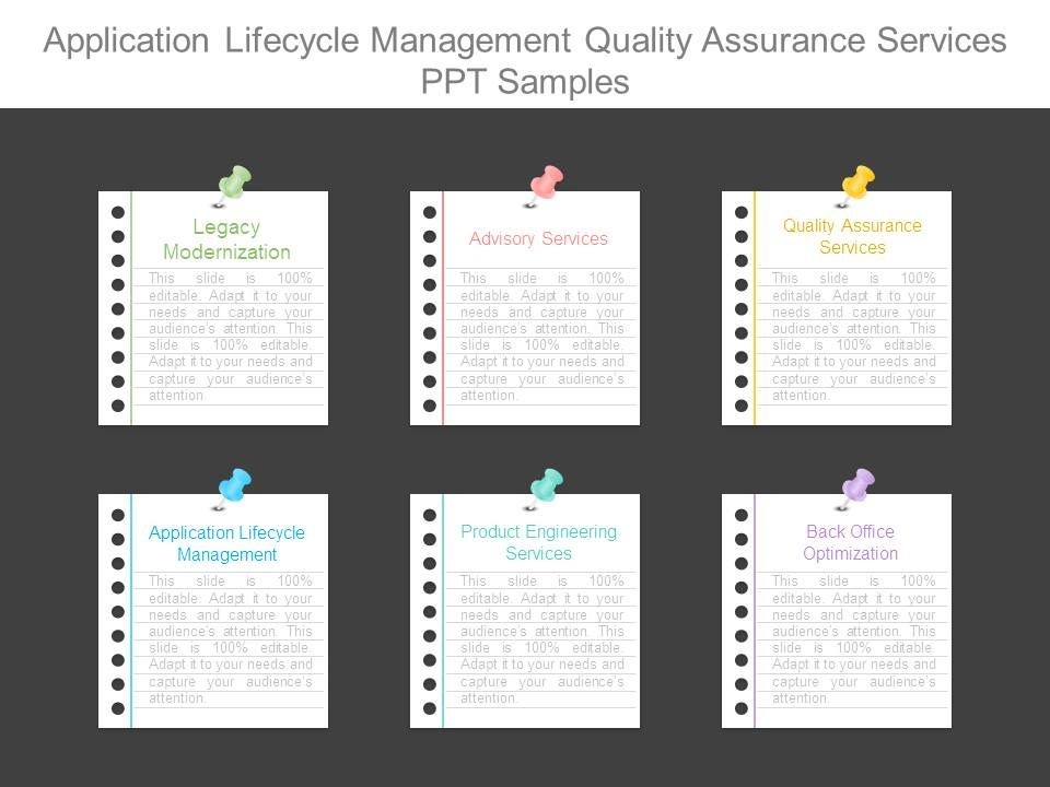 Application lifecycle management quality assurance services ppt applicationlifecyclemanagementqualityassuranceservicespptsamplesslide01 toneelgroepblik Images